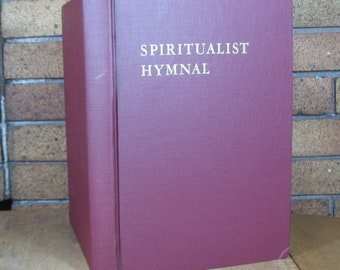 Spiritualist Hymnal - 3rd Edition 1972 - National Spiritualist Association of Churches of the USA