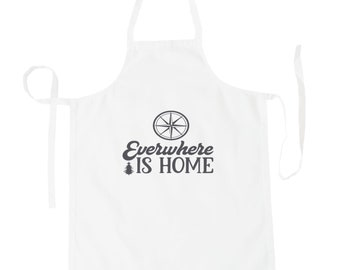 Everywhere is home Apron v993b