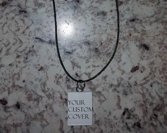 Custom Mini Book Necklace