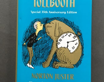 Vintage The Phantom Tollbooth by Norton Juster 1996, Hardcover, 35th Anniversary