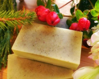 Cedar and Clary Sage lotion bar