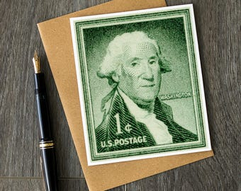 Historian birthday cards, US history art, history teacher retirement cards, teacher appreciation cards, George Washington greeting cards