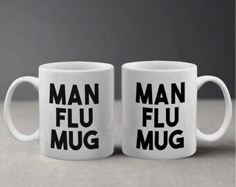 Man Flu Funny Design Mug M1100