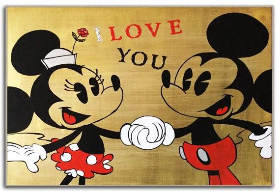 MICKEY Mouse Art MINNIE Mouse Walt Disney World Bedroom Decor