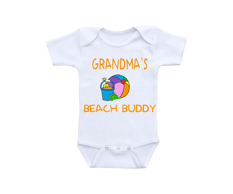 Beach Baby Clothes or Gerber esie Cute Baby esies Beach
