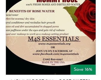 MOMMY ROSE WATER