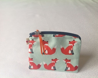 Handcrafted, fabric, coin purse