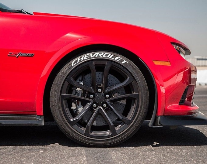 Chevrolet Tire Bomb Stencils JDM Lettering Track RWB Idlers Evo STI Type-R Stance