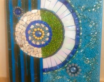 Contemporary Mosaic Wall Hanging