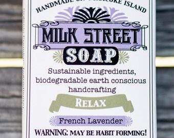 Lavender Soap - Goat Milk Soap - Gift for Men - Gift for Women - Relax - Rose Soap - Goat Milk Soap