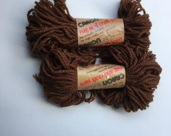 Vintage Caron Rug Yarn