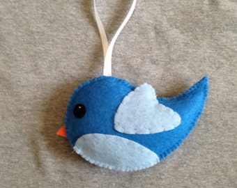 Bird Christmas Ornament