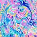 Lilly  Inspired Psychedelic Vinyl Sheets