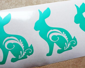 Easter Bunny Decal, Easter Decal, Easter Basket Decal, Easter Egg Decal, Custom Easter Egg Decal, Vinyl Easter Sticker