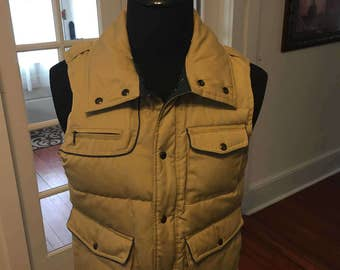 Vintage 1990's Field and Stream Down filled  Vest