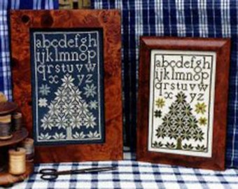 CARRIAGE HOUSE SAMPLINGS Companion Quaker Christmas Tree counted cross stitch patterns at thecottageneedle.com December Winter holidays