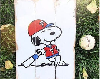 Snoopy baseball (custom)