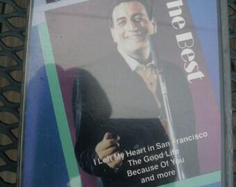 Tony Bennett The Best Audiocassette Like New condition I left My Heart In San Francisco Hit single
