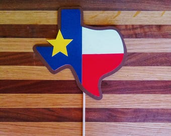 State of Texas Cake Topper, texas cake topper, texas topper, texas centerpiece, texas party, texas decor, texas birthday, texas cake, texas