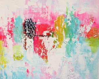 Original Abstract Painting: Whimsical Reflections