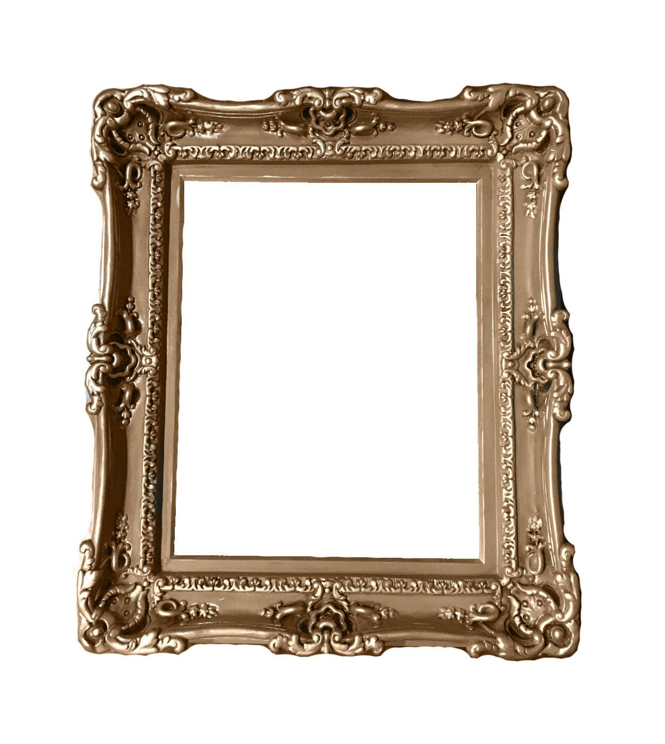 16x20 Antique Shabby Chic Frames, Baroque Frame for Canvas, Large ...