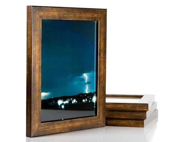 Craig Frames, 24x36 Inch Modern Aged Copper Picture Frame, Bauhaus ...