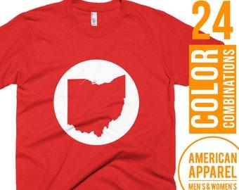 Ohio Tshirt Ohio T Shirt Ohio Tee Shirt Ohio T-Shirt Ohio Clothes Ohio Clothing Gift