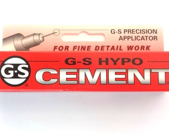 GS Hypo cement Adhesive Glue Jewellery Craft Glue