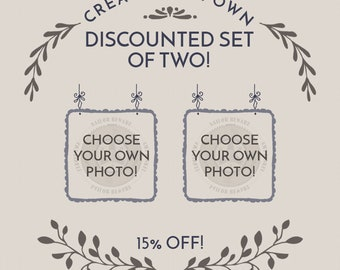 Discounted Set of two! Choose any two prints and save 15% / Wall Photographs, Fine Art Photography, Home Decor, Wall Art, Gift Idea