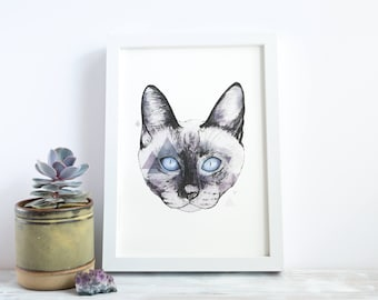 Cat | A4 Giclée Print