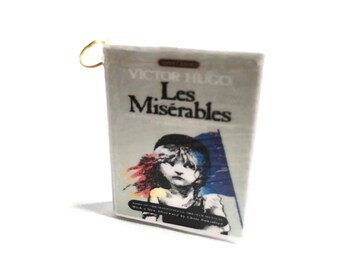 Miniature Les Miserables Necklace/Keychain