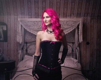 Custom Gothic Wedding/Prom Dress
