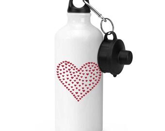 Heart Of Hearts Sports Bottle