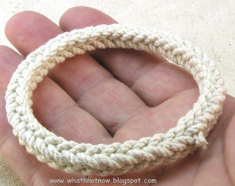 square braid rope bracelet cotton sennet braid bracelet rope jewelry handmade rope bracelet 3326
