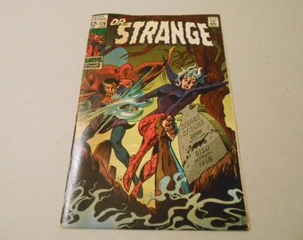 Dr. Strange #176; 1969; 1st solo comic; Clea Abducted; Silver Age; Very Good; Key Comic Book; Defenders; Dr. Strange Movie!