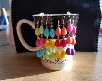 Easter Egg Dangles-4 different designs