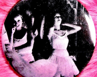Pocket Mirror - Ballerinas - Swan Lake