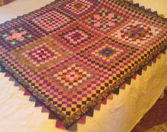 Quilted Wall Hanging/ Couch Throw