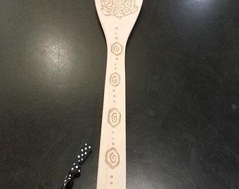 Wooden Decorative Spoon- Turtle