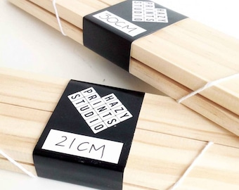 Reusable Magnetic Wooden Print Hanger for A4, A3 and A2 prints