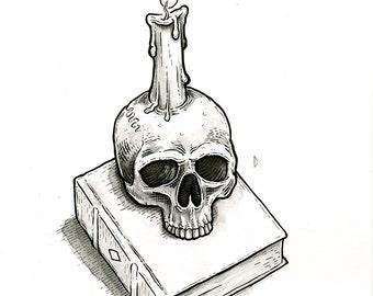 Grimoire (original drawing)