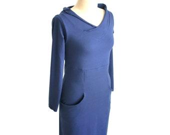 Custom dress, Plus size custom dress, Hoodie dress with pockets, long sleeve dress, hooded dress, plus size clothing, Pockets dress