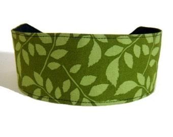 Bargain Headbands, Delicate Foliage, Leaves, Green Over Green, Beautiful Headband