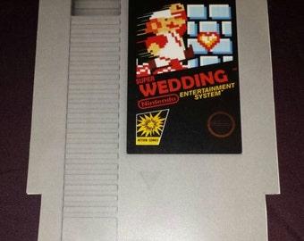 Nintendo themed Wedding Invite