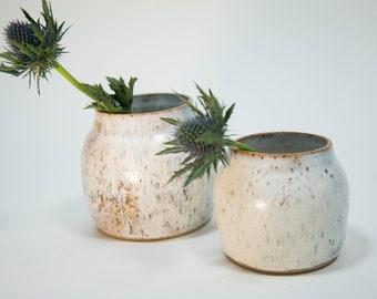Small Rounded Ceramic Vase