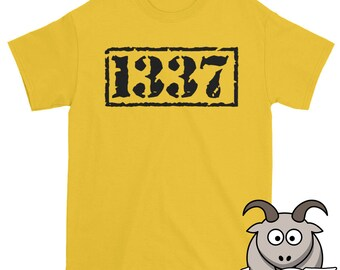 1337 Shirt, Leet Shirt, Elite Shirt, Gaming Shirt, Leetspeak Shirt, Geek Shirt, Eleet Shirt, 1337 T Shirt, Funny Shirts, Funny TShirts