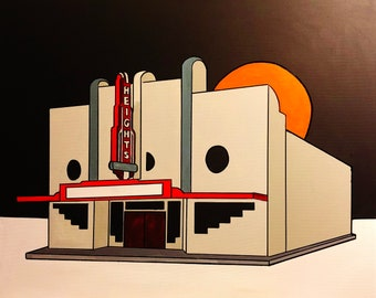 Heights Theater Print