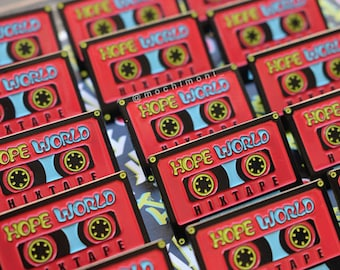 PRE-ORDER 방탄소년단 J-HOPE Hope World Hixtape Soft Enamel Pin