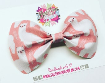 Llama Hair Bow. Alpaca Bow. Animal Bow. Faux Leather Bow. Toddler Bows. Baby Bow Headband. Girls Bows. Spring Bow. Summer Bow.