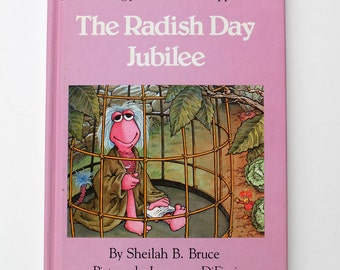 Fraggle Rock The Radish Day Jubilee Book 1983
